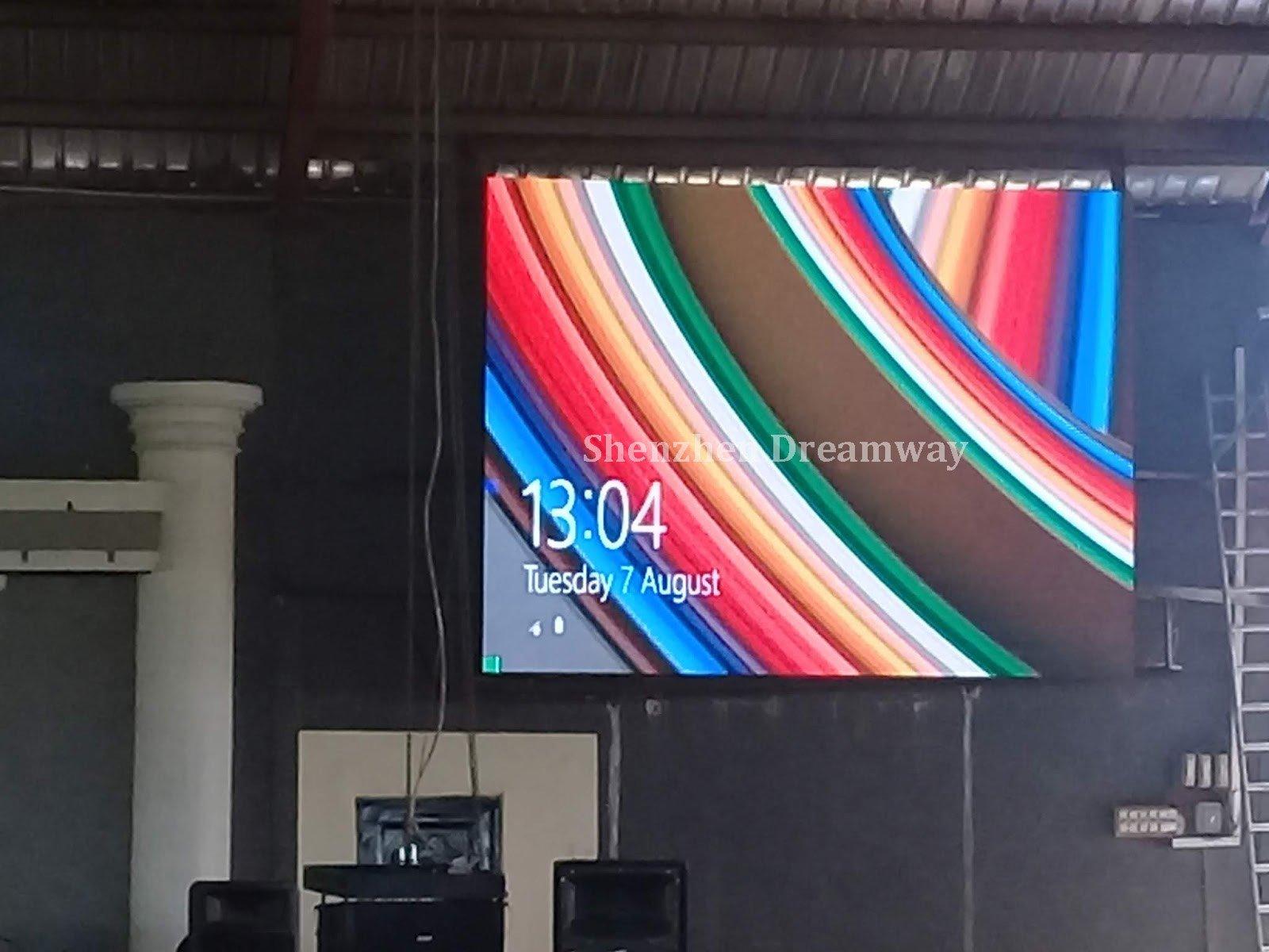 LED-scherm voor kerk