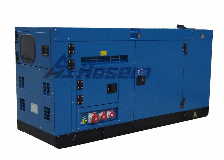 Deutz Generator with Soundproof Canopy