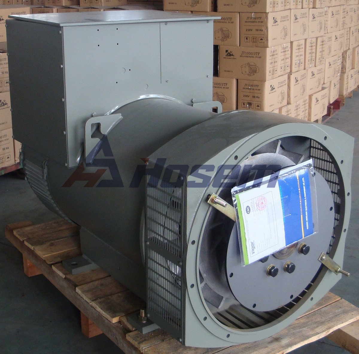 Brushless Alternator for 150kVA Electric Generator