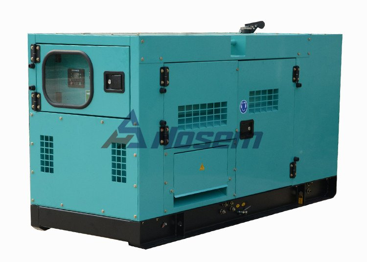 China Generator Rate Output 40kVA with Soundproof Canopy