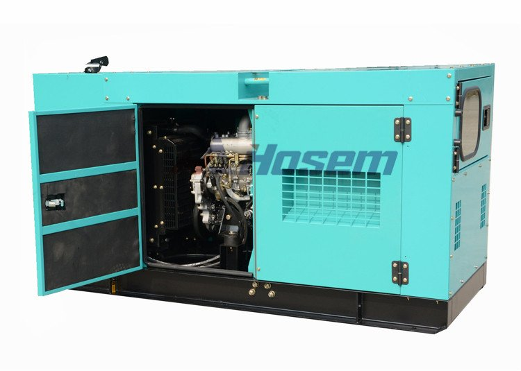 40kVA Soundproof Generators with SDEC Engine