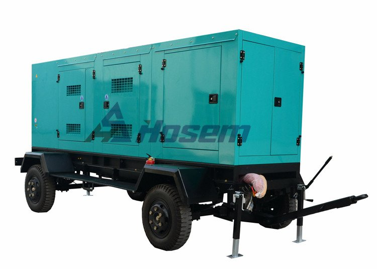Trailer Generator For Emergency Use