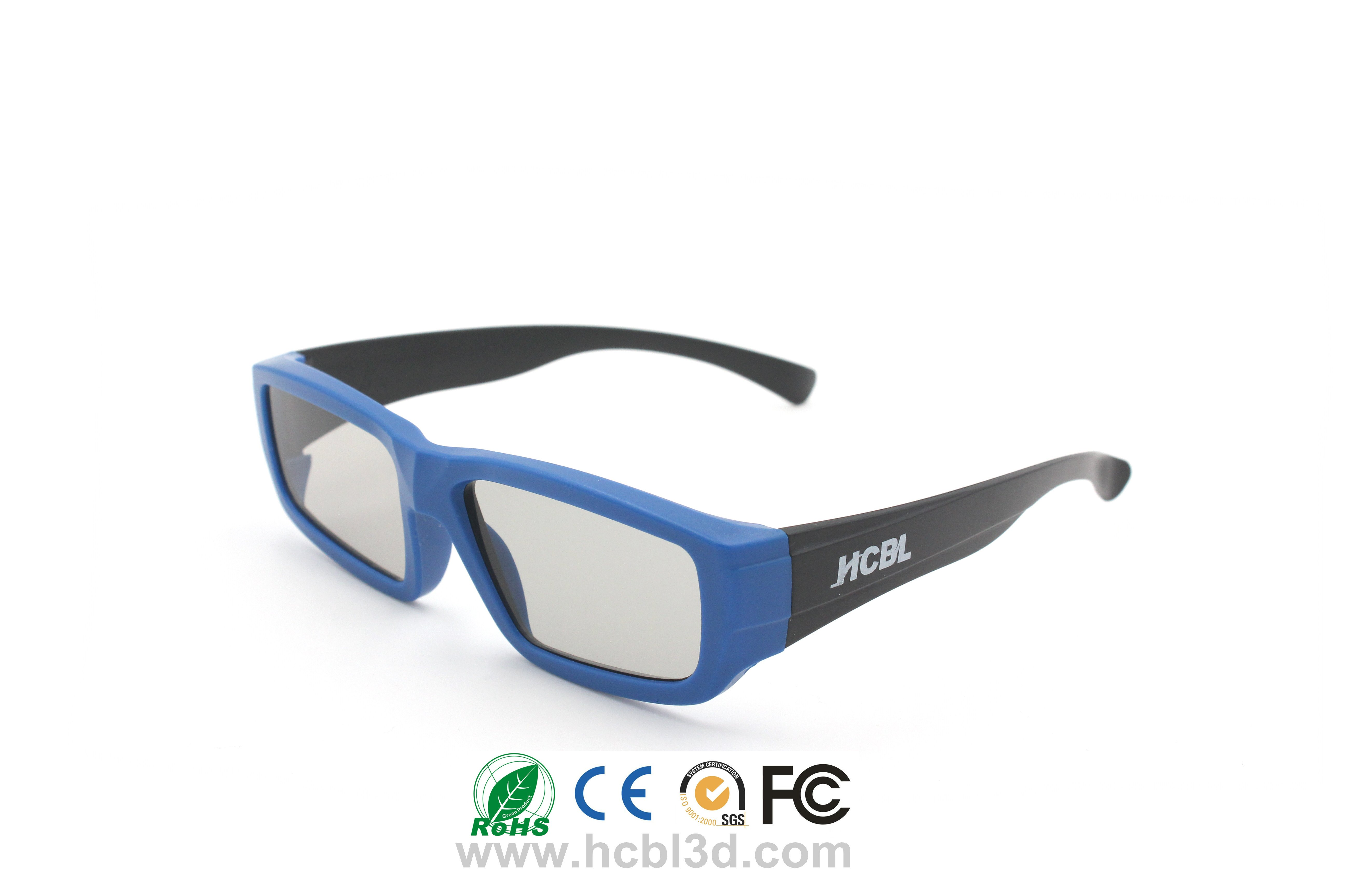 kid-size 3d glasses recyclable polarized cinema 3D glasses