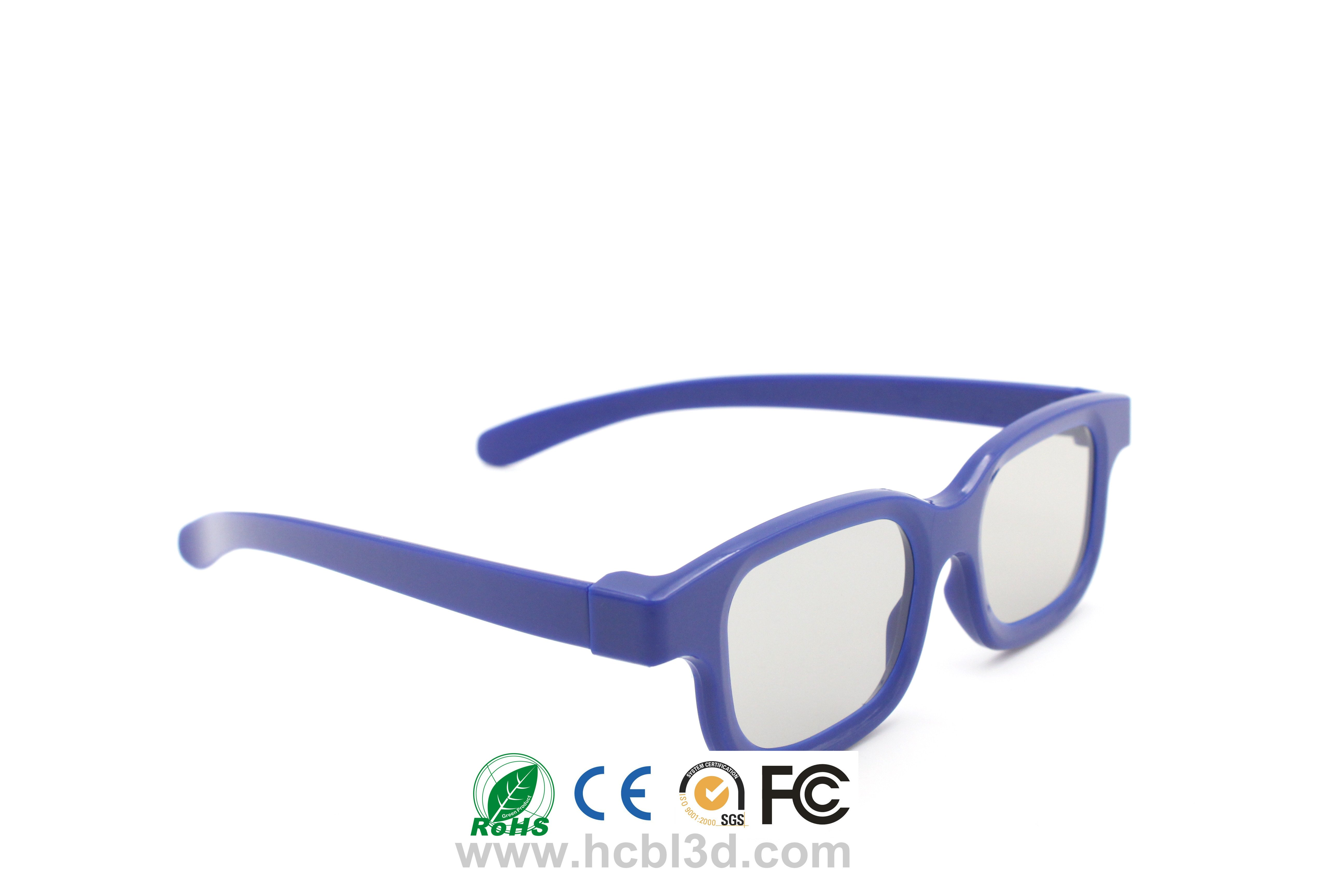 Universal Passive Cinema 3D Glasses With High Quality Polarized Lens for best 3D experience