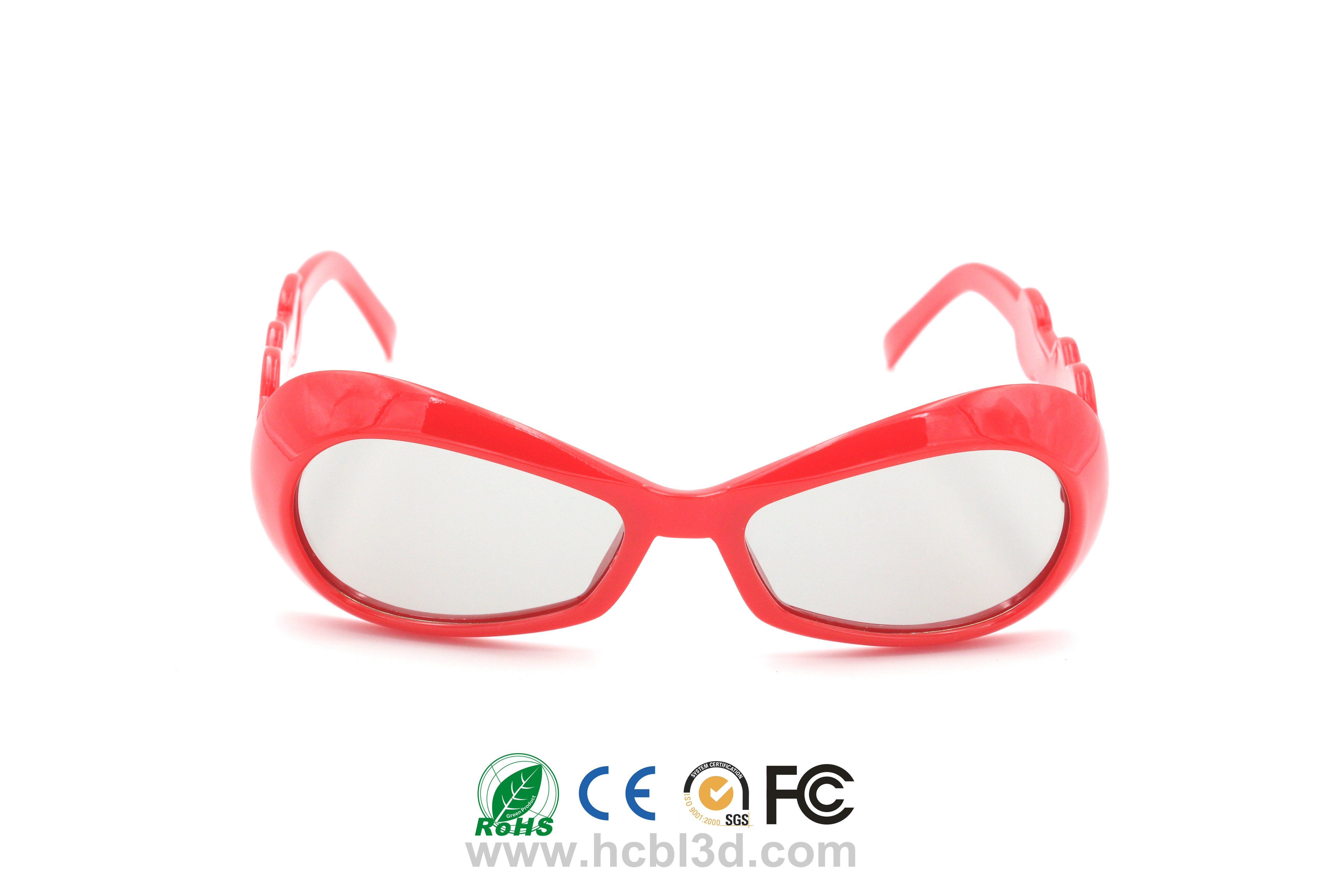 Child 3D Glasses Reusable Strong Frame Available in Multiple Color