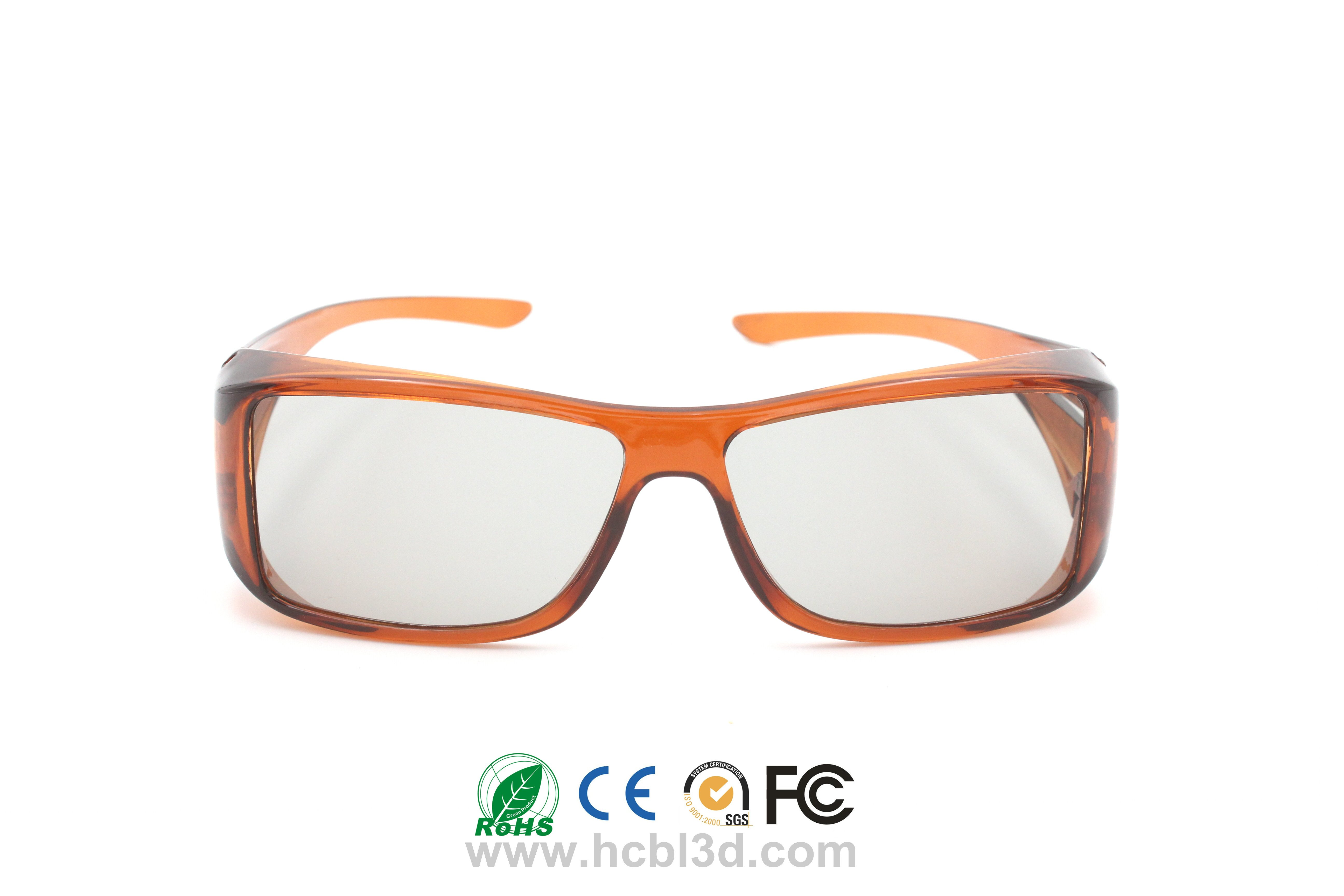 Reusable 3D Glasses Passive Polarized for 3D Movies