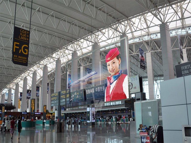 Airport LED display projects