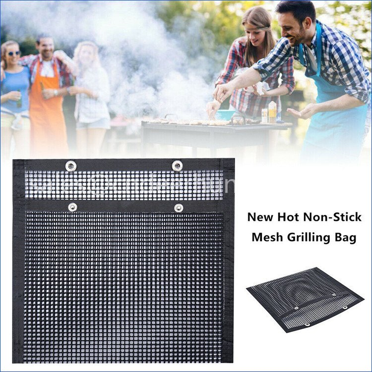 Barbecue Reusable Grilling Baking Net
