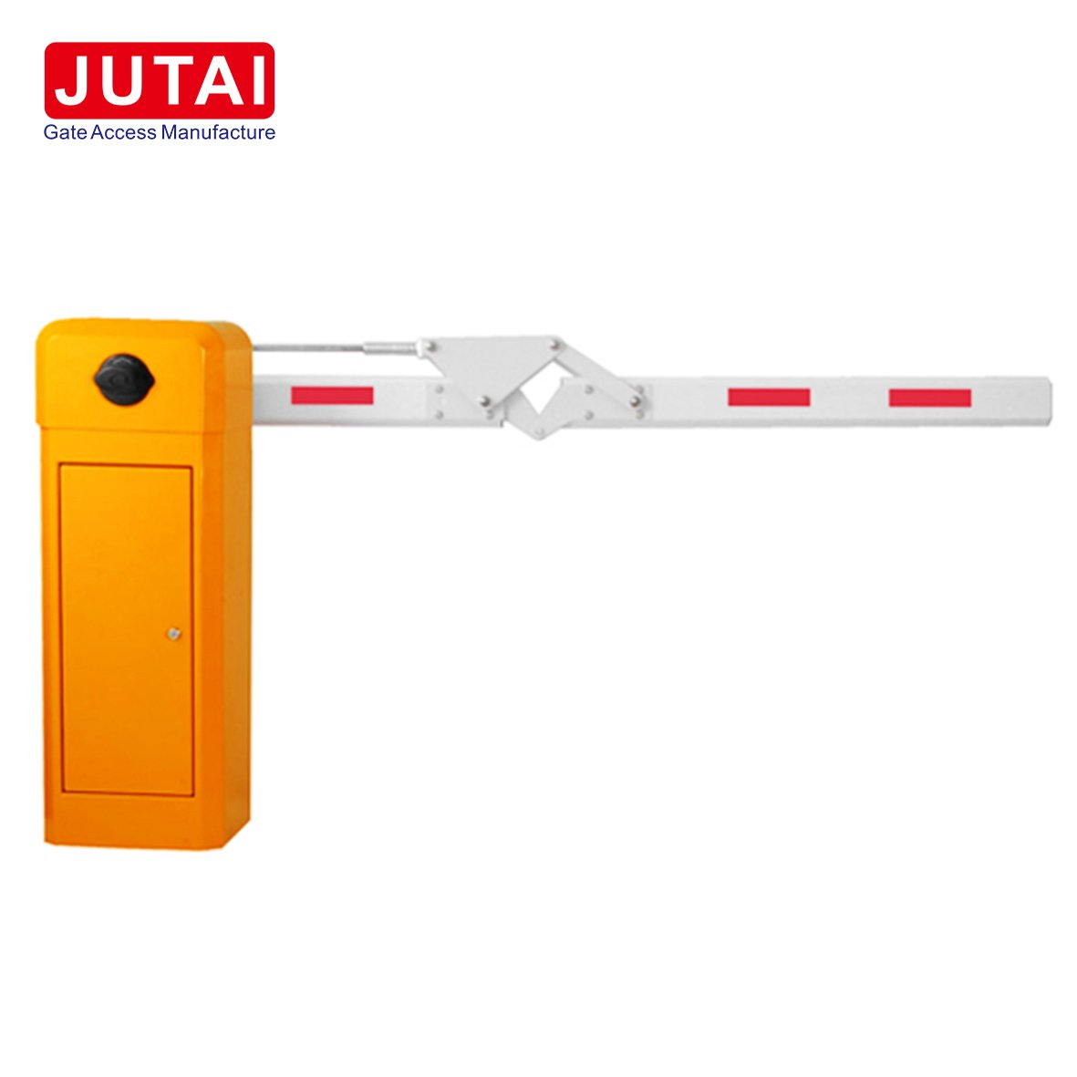 Barrier Gate System with Arm Length 6 m OF 100mm Traffic LED Light