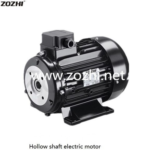 Hollow shaft electric motor for car wash 160M1-4 15KW