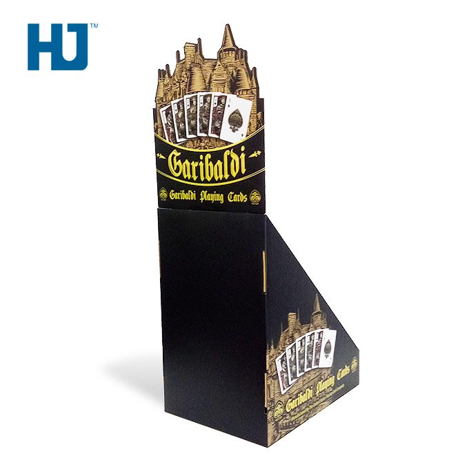 Card customized cardboard display stands
