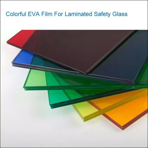 Color EVA Film For Indoor Outdoor Decorative Laminated Glass