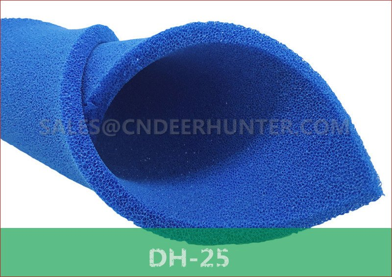 DH-25 open cell silicone foam sheet for ironing table