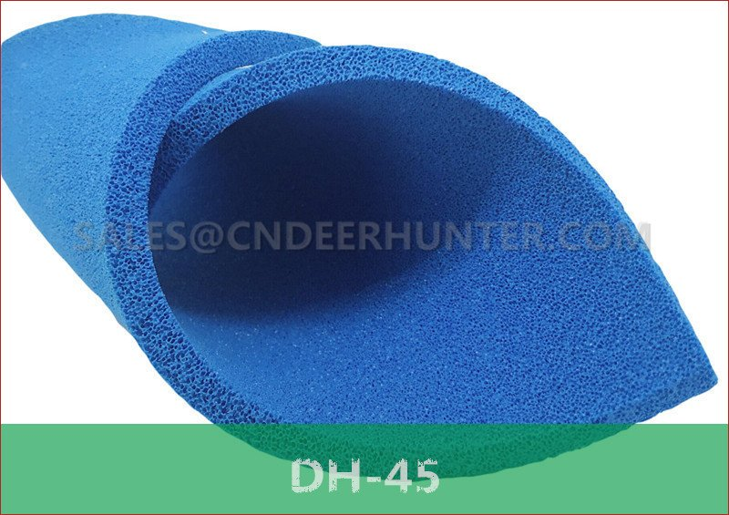 DH-45 open cell silicone sponge sheet for ironing table