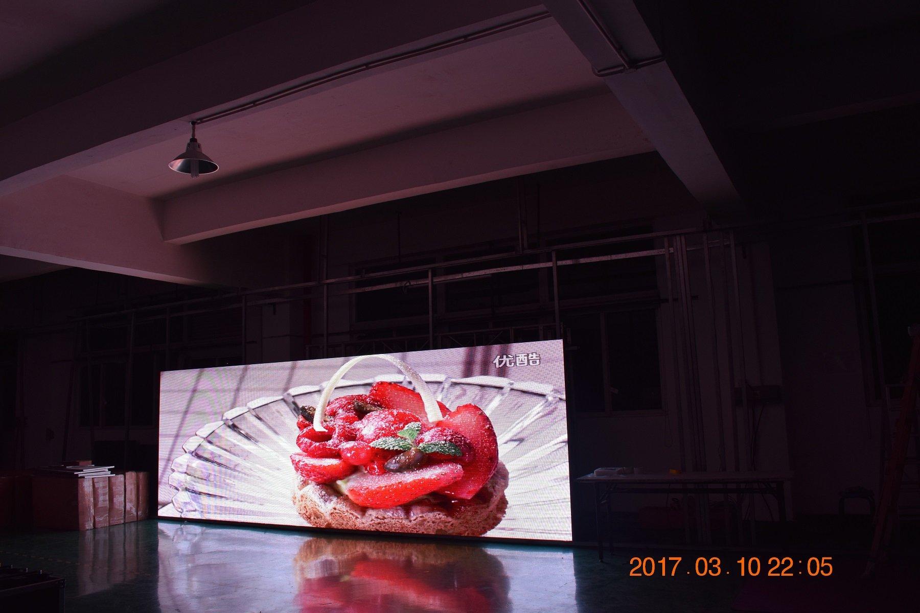 Pantalla LED de concierto