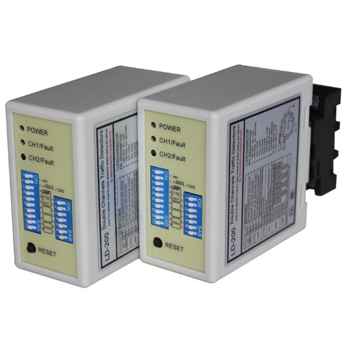 Dual Channel Traffic Detection With NO/NC choose.