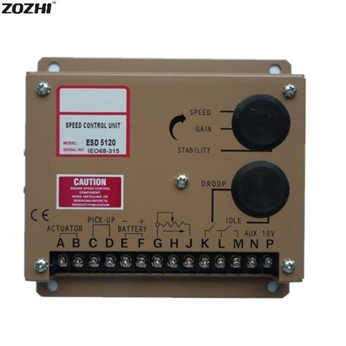 ESD5120 Electronic Speed Control Generator Governor