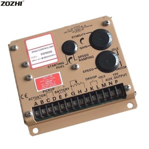 ESD5520E Electronic Speed Control Generator Governor