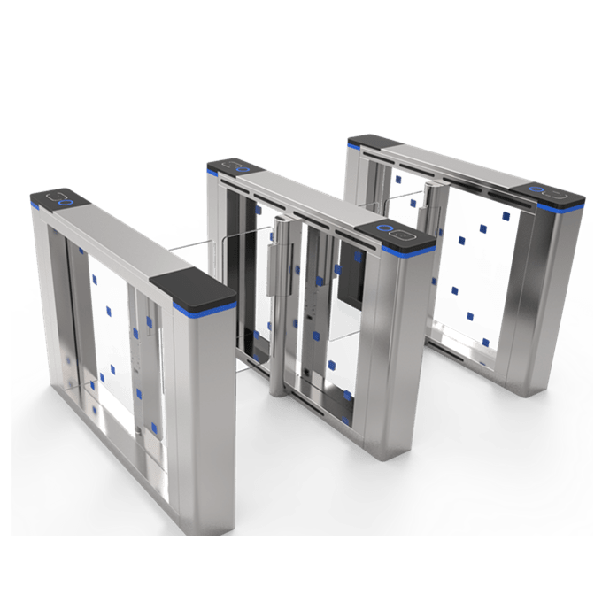 Fastlane turnstile Speed Gate Swing Barrier with Brushless Motor and 6 sensors SST-F356