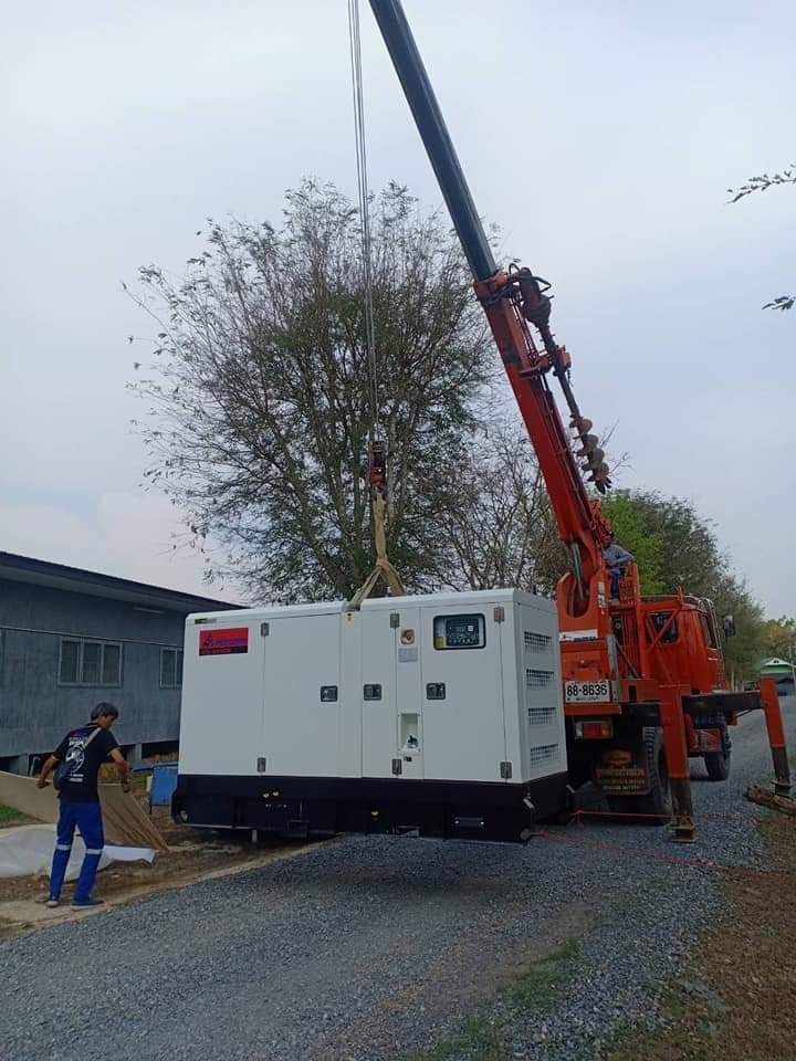 100kVA Generator Set with Cummins Diesel Engine