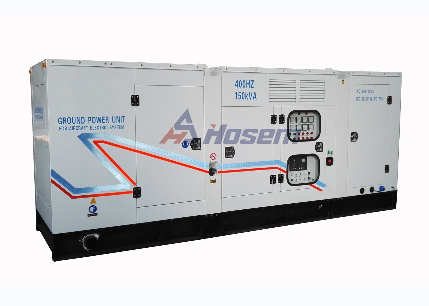 Fixed Type 400Hz Diesel Generator For Aircraft