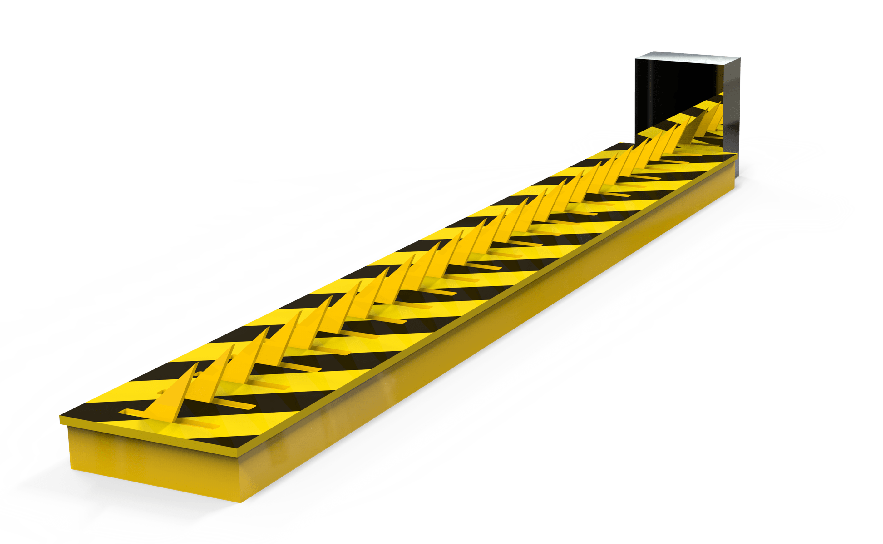 Automatic Spike Barrier