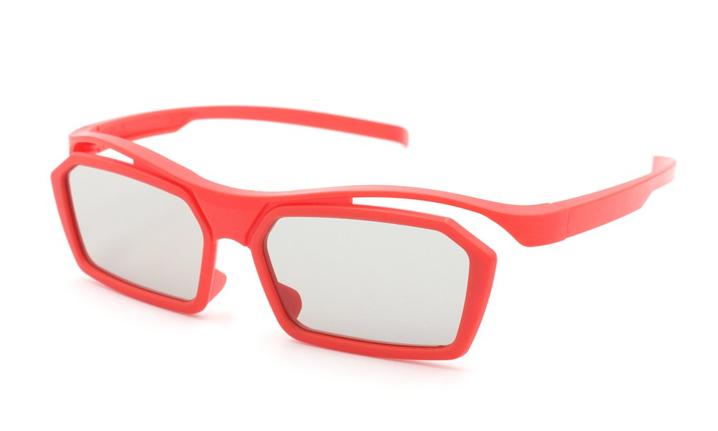 gafas 3D pasivas reciclables