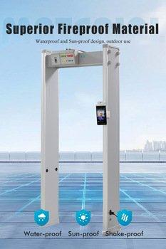 Сканер температуры тела Safeagle 2020 с распознаванием лиц