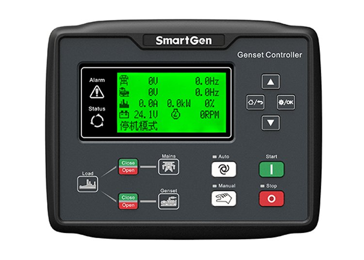 HGM6120CAN GENSET CONTROLLER FRONT
