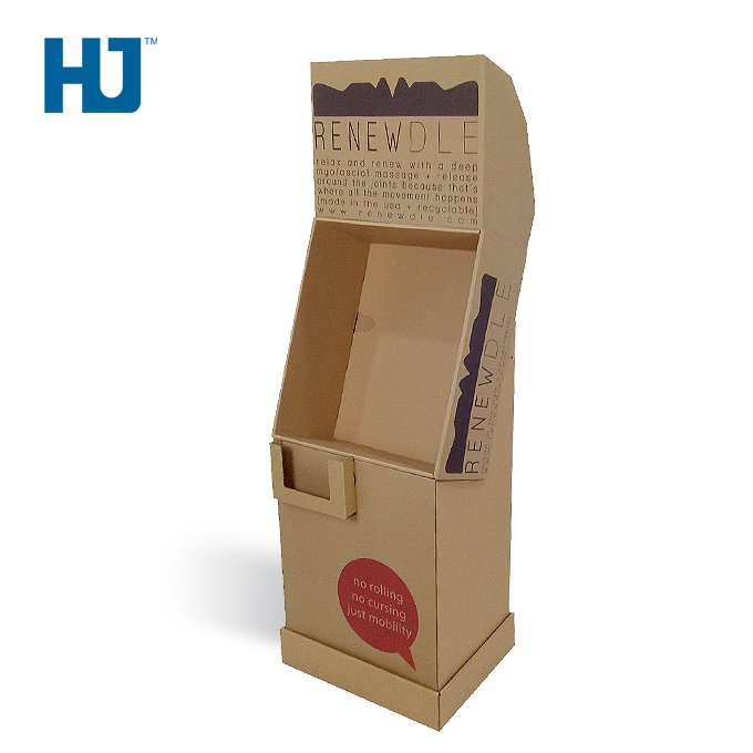 Fitness Equipment Craft Cardboard Display for Promotion and Chain Store