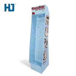 Hook Display Paper Table Linens Cardboard Display stand For Restaurant And Hotel