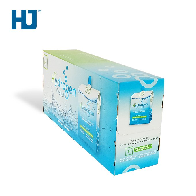 Gift Cardboard Box For Water Bottle Packaging Retail With High Quality And Wholesale Price