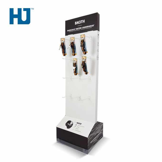 Pet Products Hook Displays Cardboard Display Hooking Displays Double-sided Displays