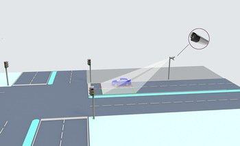 Détecteur de véhicules routiers