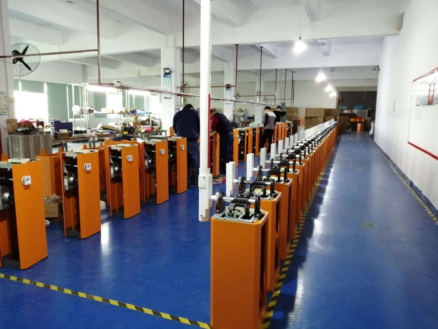 servo motor parking barrer