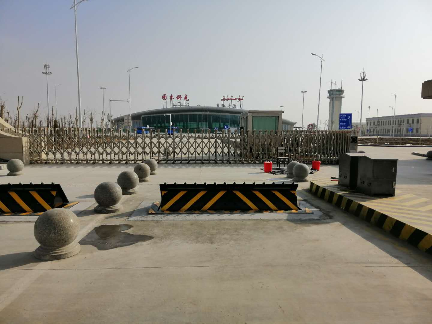 Hydraulic Road Barrier for Airport