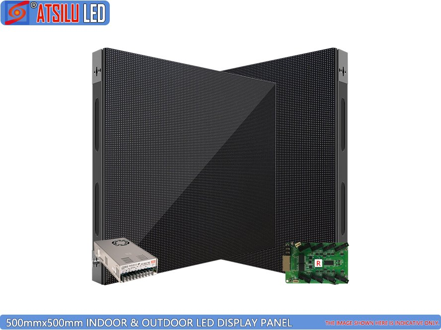 Indoor & Outdoor 500mmx500mm Indoor LED Display Panel