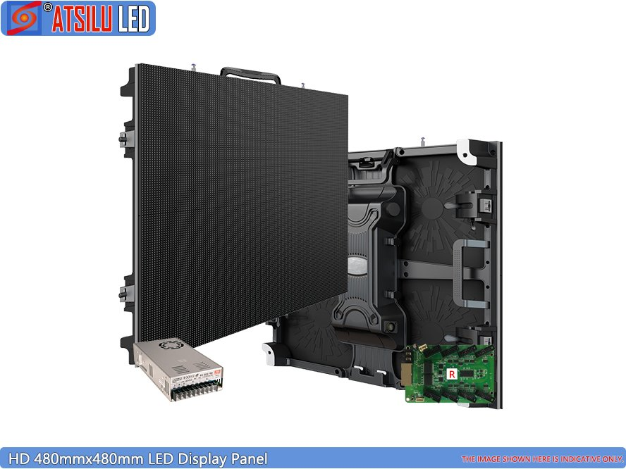 480mmx480mm LED Display Panel Indoor HD LED Screen