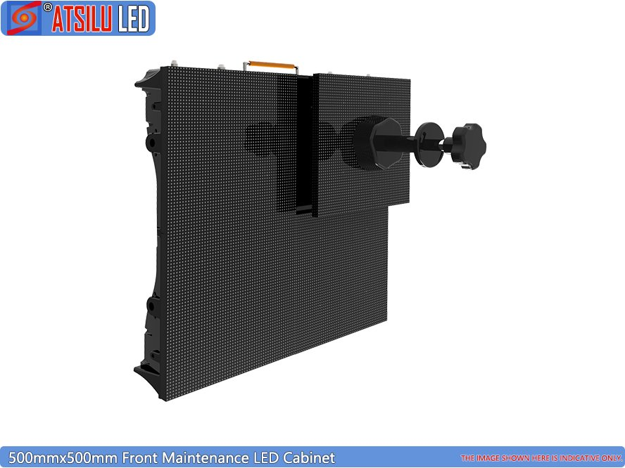 Indoor Front Access LED Screen 500mm LED Cabinet