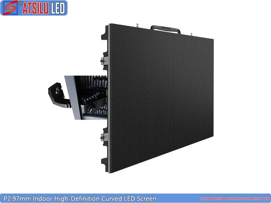 P2.97mm High-Definition Curved LED Screen Panel