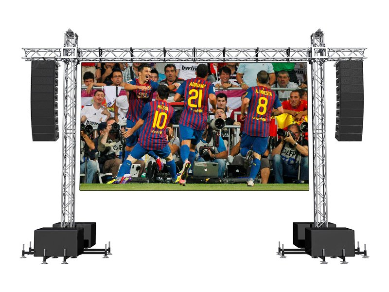 Stage Rental LED-Display-Videowandlösung