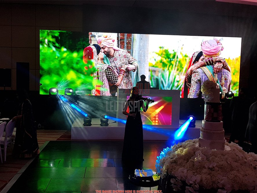 Indoor Front Access LED Screen P2.97mm/P3.91mm/P4.81mm Front Maintenance Rental LED Screen