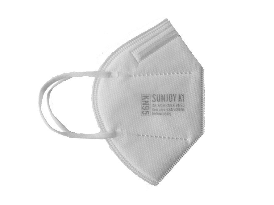 5 Layers KN95 Face Mask Silu Sunjoy Factory Production