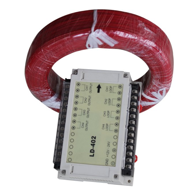 Four Loop Vehicle Detector