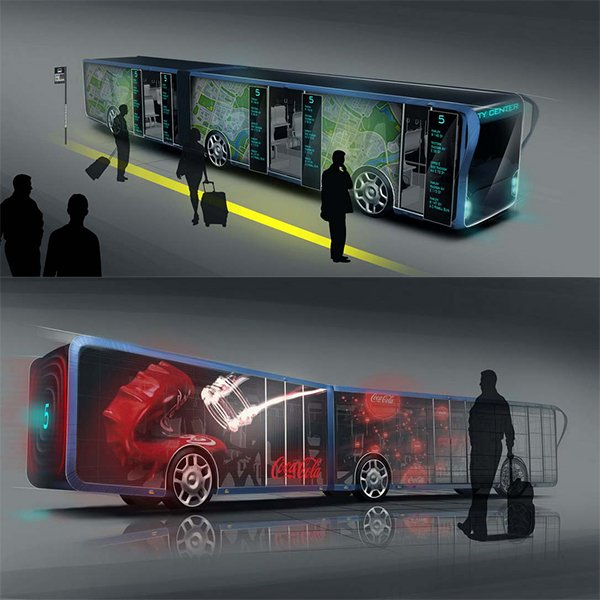 Check The LED Bus From Future