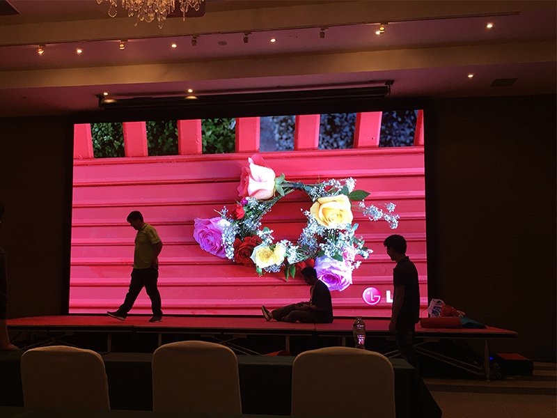 quality LED video wall display