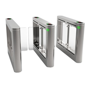 Automatic Security Swing Barrier Gate with fingerprint and RFID system SST-N3000