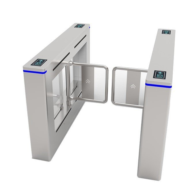 Anti-hit Swing Turnstile Gate System with Brushless Motor SST-N3004