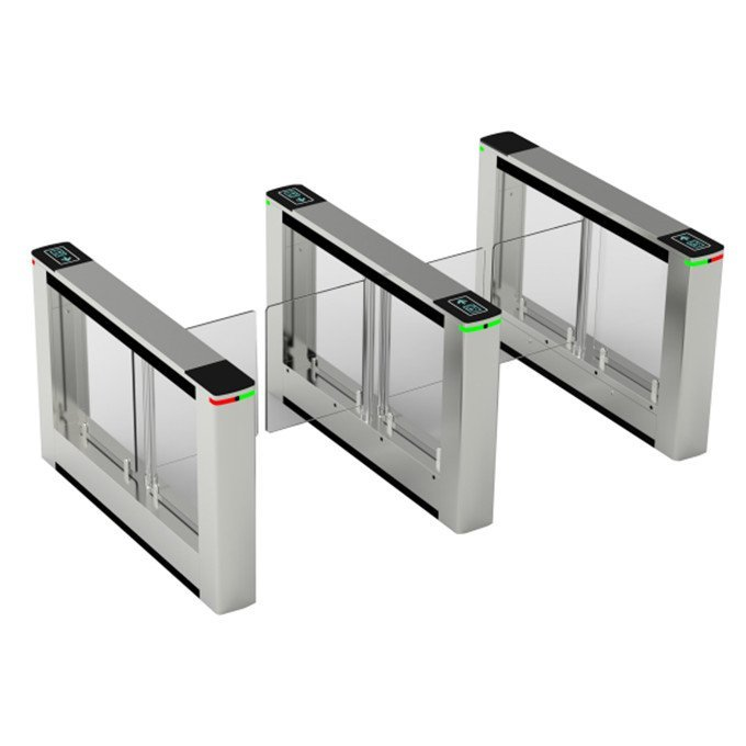 Slim swing turnstile gate with brushless motor for access control full automatic SST-N3010