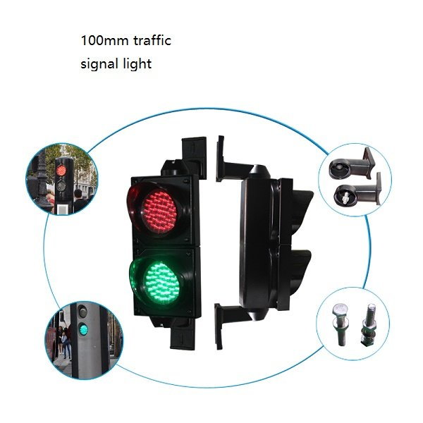 100mm traffic signal light